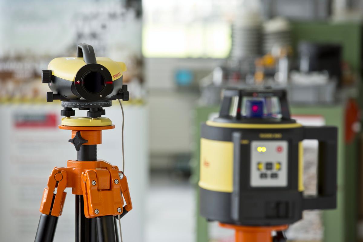 laser Leica CalMaster